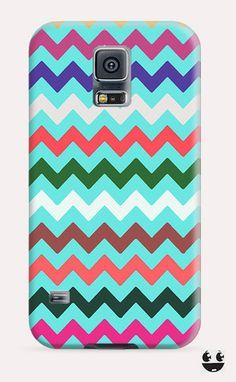Colorful Chevron  Galaxy Samsung S5, Galaxy Samsung S4, Galaxy Samsung S3