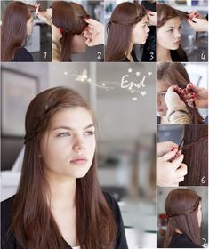 6 Chic Braided Crown Hairstyles for Girls'Daily Creation at home