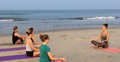 """Yoga has become quite popular with people today as it is an important and effective tool in fighting stress. If you are planning a trip to Goa to beat stress, a visit to the Oceanic Yoga School in Anjuna is definitely a thing to do in Goa. Book your stay in Goa with us..... https://treehousehotels.in/hotels/treehouse-neptune-goa/"""