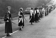 The Baltic Way: 2 million people held hands in a 372-mile human chain from Vilnius to Riga to Tallinn.