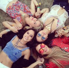 Me, Betsy, Parisa and Chrissy (Coachella 2015)