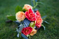 Spring/Summer are here so take advantage of these beautiful, in season flowers for your wedding bouquet! Check out our awesome tips on how to choose and arrange your wedding bouquet! Spring Flower Bouquet, Spring Wedding Bouquets, Rose Bridal Bouquet, Bridal Flowers, Spring Flowers, Flower Bouquets, Bridal Bouquets, Wedding Pics, Our Wedding