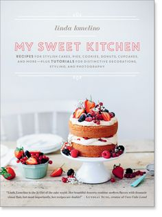 Transform ordinary desserts into extraordinary creations. In My Sweet Kitchen, world-renowned baker and food photographer Linda Lomelino shares how to make her favorite sweet treats while also offering her expert advice on how to bake, decorate, and photograph your own delicious creations. Through nearly 50 original recipes for decadent delights—from Rhubarb Summer Cake and Lime Pie with Marinated Strawberries to Stout Pretzel Cupcakes, Malted Milk Brownies, and Caramel Macadamia Tart—let