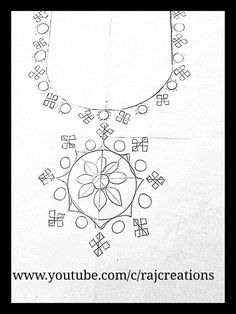 Embroidery Neck Designs, Hand Embroidery Patterns, Kutch Work Designs, Hand Sketch, Mirror Work, Kurti, Sewing, Paper, Blouse