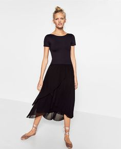 Image 1 of DOUBLE LAYERED TULLE SKIRT from Zara