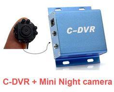 Hidden Camera | Mini Security DVR SD Card night vision camera