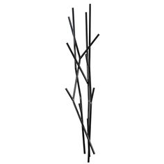 Latva Wall Clothing Rack Black, now featured on Fab. by COVO ! Wall Clothing Rack, Metal Design, Entry Way Design, Black Tree, Wall Mounted Coat Rack, Coat Hanger, Coat Racks, Tree Wall Art, Wall Art Quotes