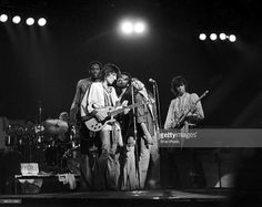 The Rolling Stones - Ron Wood, Billy Preston, Mick Jagger And Keith Richards, Zagreb, Yugoslavia - 1976, The Rolling Stones - Ron Wood, Billy Preston, Mick Jagger And Keith Richards, Zagreb, Yugoslavia - 1976