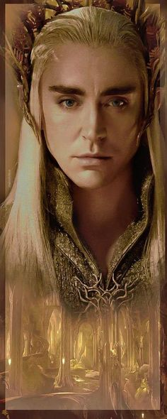 Lee Pace as Thranduil in The Hobbit movies is simply stunning, he took my breath away.