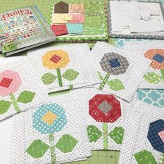instagram sew along - bloom where you are planted quilt :) xxx