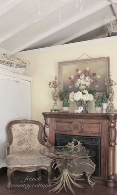My Favorite Room in the House~ My French Cottage Inspired Bedroom