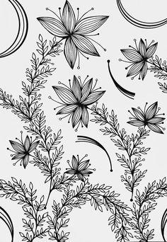 Momoyan's Flowers #Art #Illustration #Design #Painting #Beautiful #artwithus