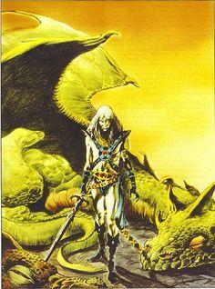 Dragons Dream - Elric - Artwork: Frank Brunner