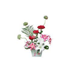 Rosas y Liliums - Arreglos Florales