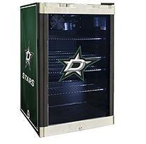 NHL Glass Door Refrigerated Beverage Center 4.6 cu. ft. capacity-  Stars