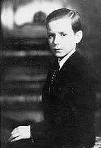 """Helmut Christian Goebbels (2 Oct. 1935--1 May 1045), 3rd child and only son of Joseph and Magda Goebbels. Helmut was """"considered sensitive and...a dreamer"""". His father described him as a """"clown"""". Helmut was falling behind at his primary school but responded well to """"intense tutoring"""" and was promoted. In the bunker he heard the gunshot that killed Hitler and exclaimed, """"That was a bullseye!"""", mistaking it for a mortar blast. Helmut was 9 1/2 when he died."""