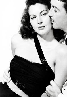 Ava Gardner and Robert Taylor in The Bribe (Robert Z. Leonard, 1949)