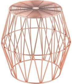 j.elliot HOME Side Tables Geo Copper Side Table