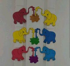 Colors craft for preschoolers   funnycrafts