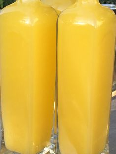 Bottled orange juice