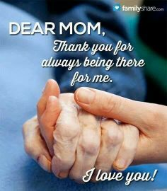 You were the best mom. Big hugs coming your way!