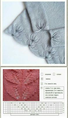 Easy Knitting Patterns for Beginners - How to Get Started Quickly? Lace Knitting Stitches, Lace Knitting Patterns, Knitting Charts, Easy Knitting, Knitting Designs, Stitch Patterns, Sock Knitting, Knitting Tutorials, Shawl Patterns