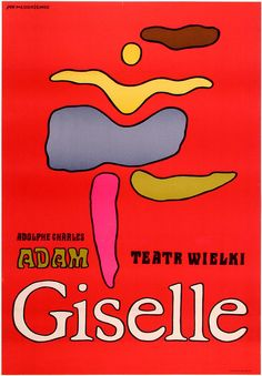 Jan Mlodozeniec / Giselle / 1968 / Offset lithograph