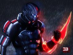 Mass Effect 3 Shepard Rain Edition Vol 1 by ~RedLineR91 on deviantART