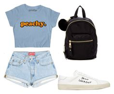 """""""Untitled #94"""" by hibiah on Polyvore featuring Yves Saint Laurent and Madden Girl"""