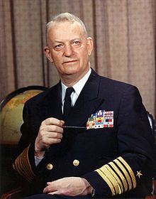 Arleigh Burke -was a swashbuckling American naval hero and inspirational leader who devised the US Navy destroyer attack strategy in the Pacific in WW2. His strategy resulted in independent destroyer action at high speed that devastated the enemy and came to the rescue of many downed airmen and sea battles. He became Chief of Naval Operations and in 1991 an entire class of modern destroyers was given his name in recognition of his exploits and abilities.