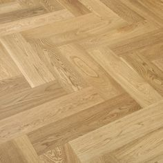 Herringbone Oak Natural Lacquered Engineered Wood Flooring