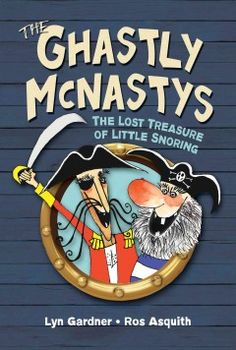 The McNasty pirate twins, Captain Gruesome and his brother, Captain Grisly, are determined to get their grubby hands on the treasure buried in the sleepy seaside village of Little Snoring. But the McNastys discover that two clever young friends, Tat and Hetty, are equally determined to find the treasure, and soon they are all embroiled in a rollicking test of wits to see which pair will prevail.