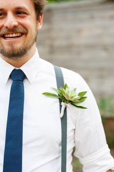 Succulents + Suspenders