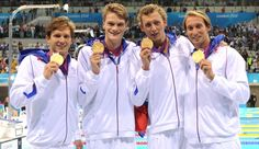 French Relay Swim team=AWESOME!!!!