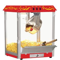 Big Top Stainless Steel Home Popcorn Machine