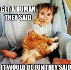 """Halalalalala ! """"Prends un humain"""", qu'ils disaient, """"Ca sera marrant"""", qu'ils disaient ...!"""