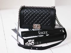 #chanel #chanelboy #chanelboybag #boybag #fashion #style #newin #dreambag  See more on my blog here: http://passionsforfashion.dk/2014/05/02/theres-a-new-boy-in-town/