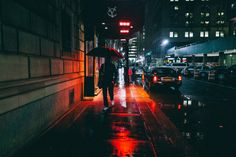 City streets on a rainy night xx Cinematic Photography, Urban Photography, Street Photography, Night Photography, Abstract Photography, Creative Photography, Rainy Night, Night Time, Rainy Days