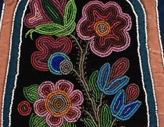 Beaded Wall Pocket, detail | Museum of Natural and Cultural History