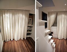 1000 Images About Closet Curtains On Pinterest Closet Doors Mirrored Closet Doors And Closet