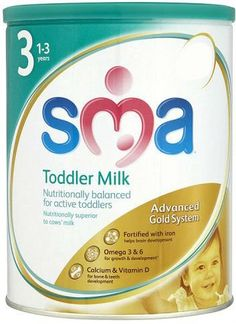 Sma Gold Toddler Milk Powder 1-3yrs (900g)