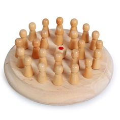 Kids party game Wooden Memory Match Stick Chess Game Fun Block Board Game Educational Color Cognitive Ability Toy for Children Board Games For Kids, Kids Party Games, Educational Toys For Kids, Kids Toys, Children Play, Kids Motor, Wooden Memory Box, Memory Games, Wooden Puzzles