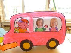 Met de bus op schoolreis