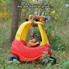 dads would be proud. fathers would be proud. little biy hunting