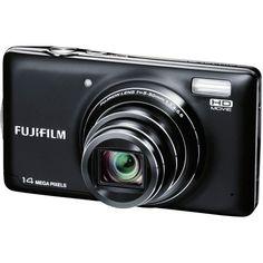 Fujifilm T350 Black Fujifilm FinePix T350 Digital Camera (Black)