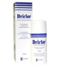 Driclor 75ml Driclor 75ml: Express Chemist offer fast delivery and friendly, reliable service. Buy Driclor 75ml online from Express Chemist today! (Barcode EAN=5011091107665) http://www.MightGet.com/january-2017-11/driclor-75ml.asp