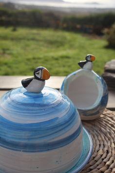 Ceramic Butter Dish, Handmade Ceramic, Kettle, Ireland, I Shop, Salt, Kitchen Appliances, Pottery, Ceramics