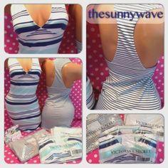 NEW-Victorias-Secret-Racerback-Bra-Top-Tank-Stretchy-Mini-Summer-Beach-Dress