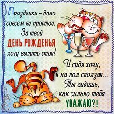 прикольное поздравление с днем рождения мужчине юморное: 23 тыс изображений найдено в Яндекс.Картинках