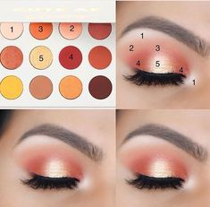 Eyeshadow Looks Cut Crease also Makeup Video In Hindi Step By Step – – Make Up Time Eye Makeup Glitter, Liquid Makeup, Skin Makeup, Makeup Eyeshadow, Eyeshadows, Eyeshadow Makeup Tutorial, Simple Eyeshadow Tutorial, Peachy Eyeshadow, Champagne Eyeshadow